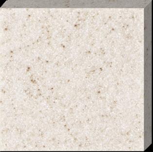 Светло-бежевый искусственный камень с небольшим количеством включений